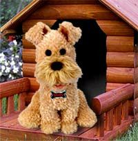 """Smiley The Wire Haired Terrier - Sings """" Can't Smile Without You"""""""