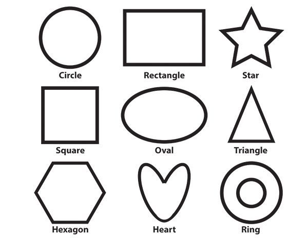 55 Top Coloring Pages For Toddlers Shapes Images Shape Coloring Pages Color Worksheets Alphabet Coloring Pages