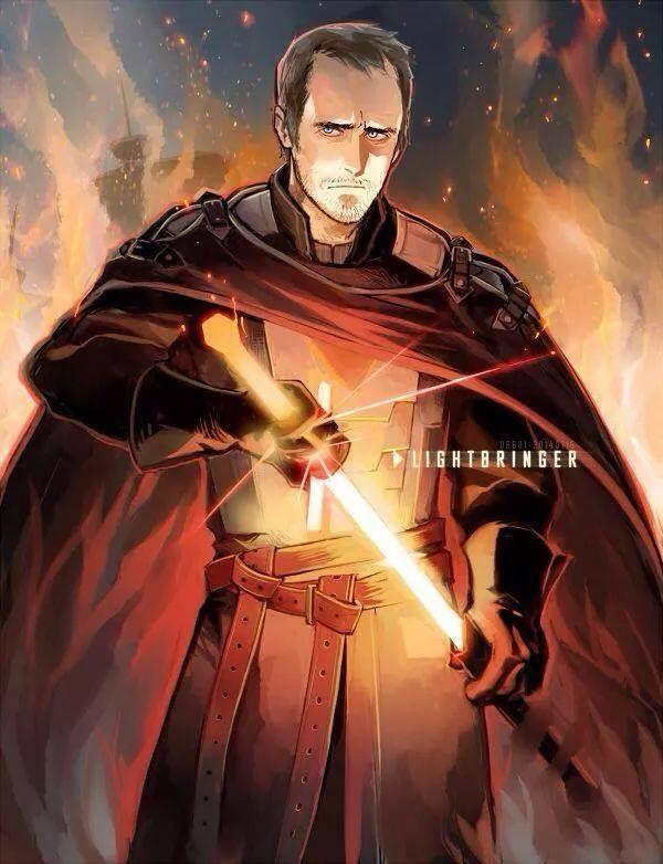 Stannis' Lightbringer !