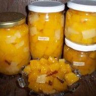Fotografie receptu: Dýňový kompot s ananasovou příchutí
