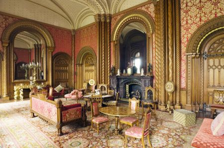 Powis Castle Drawing Room Historical World Pinterest