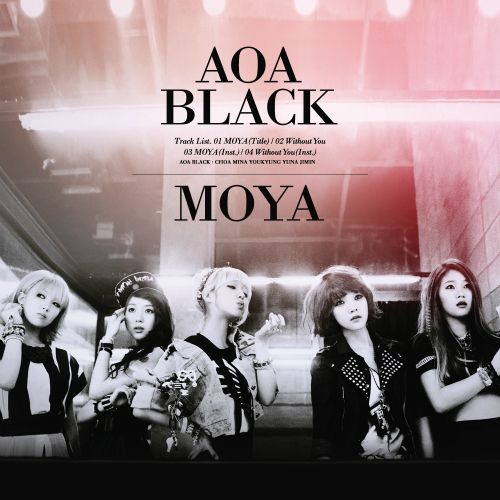 AOA Black is the band unit of the Korean girl group AOA consisting of members Jimin, Choa, Yuna, Youkyoung and Mina.  AOA White is the dance unit of the Korean girl group AOA consisting of members Hyejeong, Seolhyeon and Chanmi. The unit has not made their official debut yet.