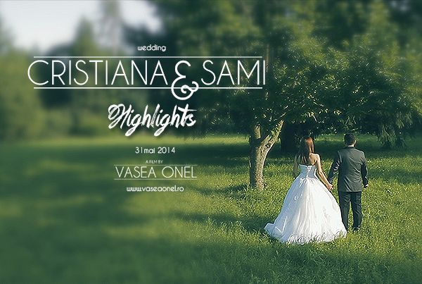 Cristiana & Sami – wedding highlights