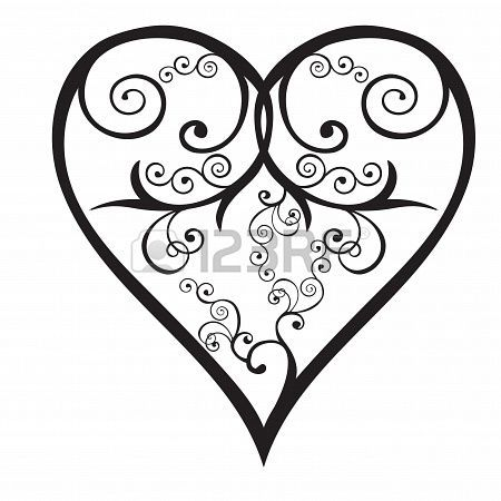 1000+ images about 1s Heart Silhouettes on Pinterest | Heart ...