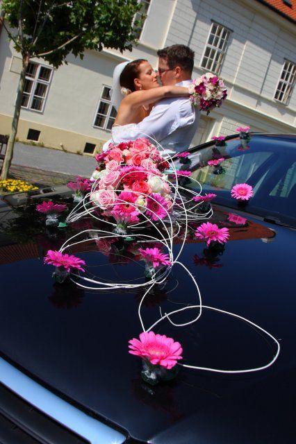 Arreglos florales coche