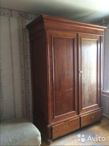Шкаф антикварный — фотография №2