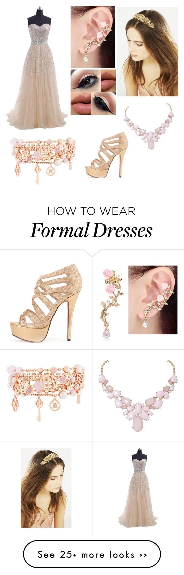 """""""Roupa formal"""" by sophia-cristina-1 on Polyvore"""
