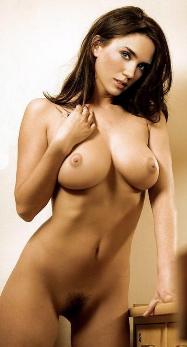 Busty girlfriend sleeping nude