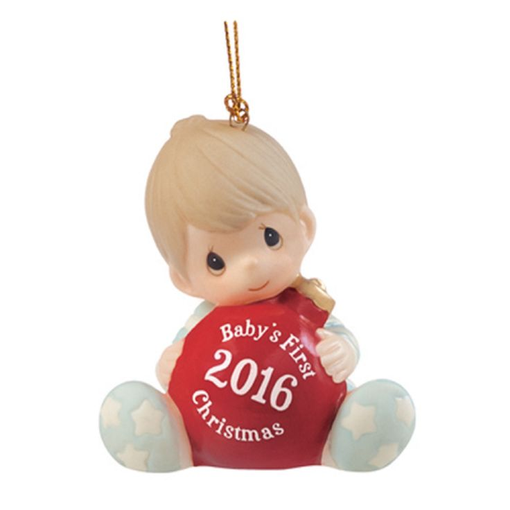 153 best baby 39 s 1st christmas hanukkah images on for Babys first christmas decoration