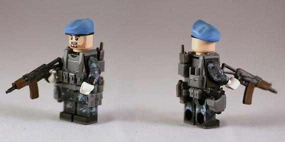 G-Bricks Urban Speznaz Custom Minifigure