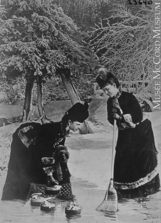curling, ca. 1880