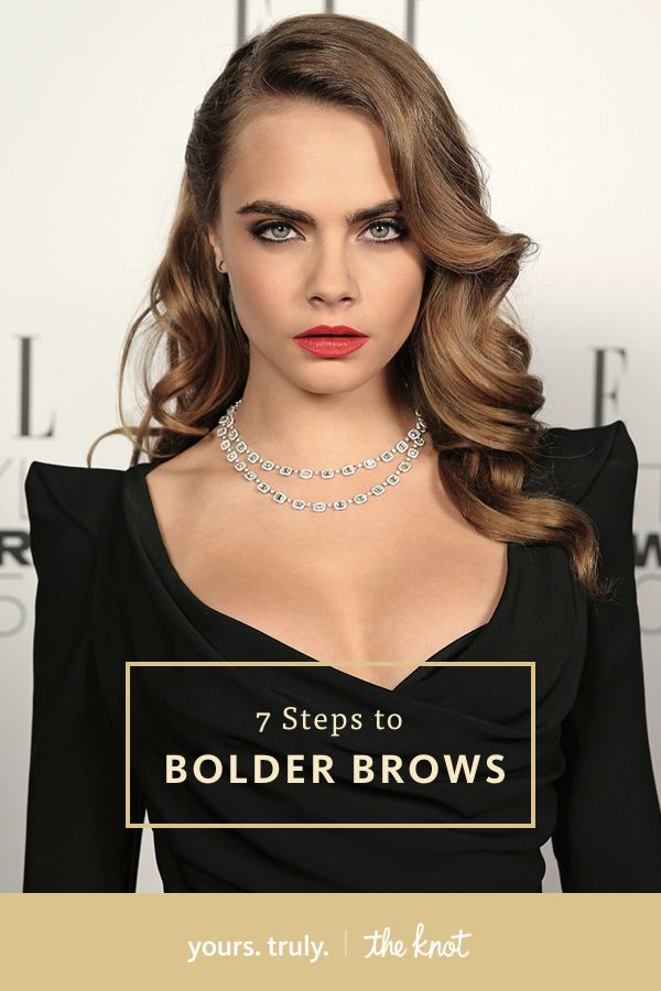 Bold brows are the new black! Follow these steps to pull them off.
