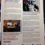 Is there a direct link between social media and sales? Read our latest article in Agenda - the Derby Business magazine.