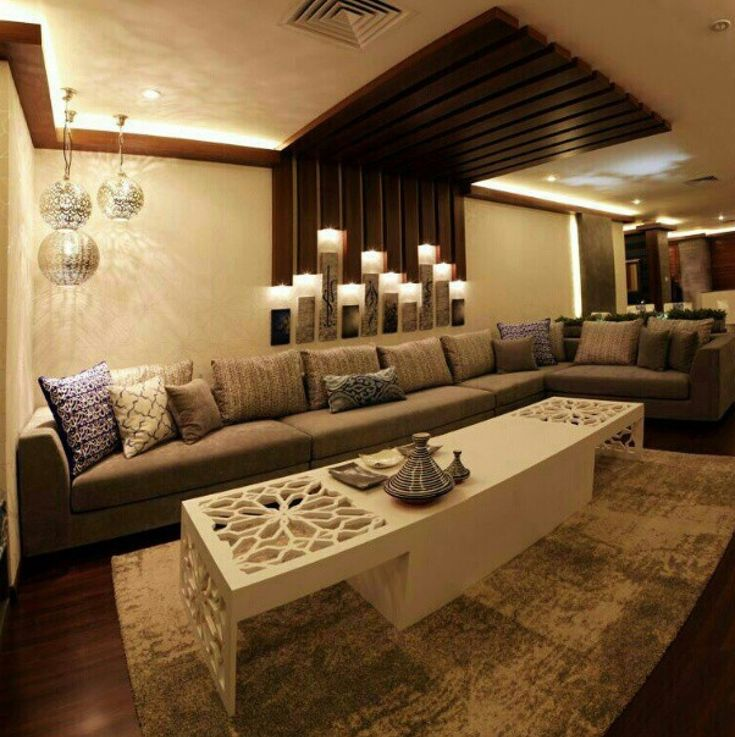 62 best decor arabic majlis images on pinterest - Salon oriental design ...