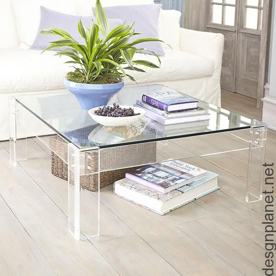 Acrylic Coffee Table · Acryl CouchtischeLucite ...