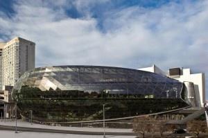 The shiny new Ottawa Convention Centre