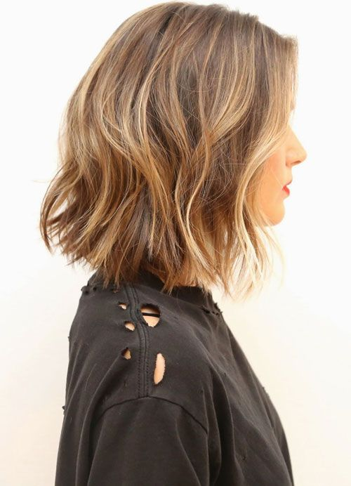Medium Bob with highlights - picture from Anh Co Tran, co-owner of Ramirez | Tran Salon in Beverly Hills