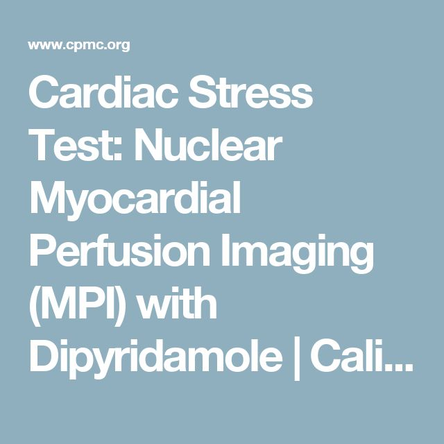 What are the different types of cardiac stress tests?