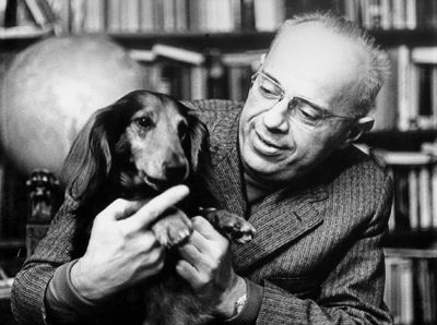 The polish writer Stanislaw Lem is quite fond of this furry companion!
