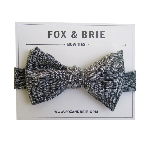 My lovely friend @Jess Decelle made this great charcoal crosshatch bow tie. Check out her board Fox + Brie for more handmade goodies.