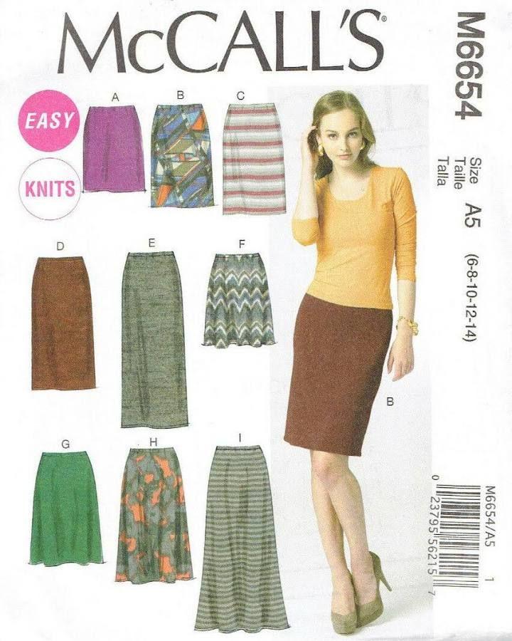 skirt pattern jersey knit   Skirt pattern, Knit jersey ...
