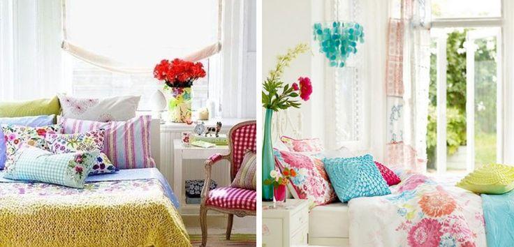 Cómo conseguir un dormitorio primaveral - http://www.decoora.com/como-conseguir-un-dormitorio-primaveral/
