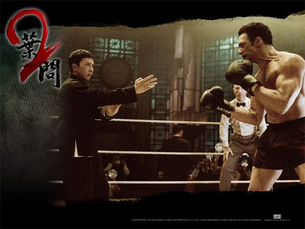 """Ip Man vs. """"Twister"""" the boxer. In the sequel to the blockbuster film."""