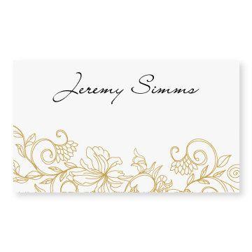 wedding place card template instant download vintage. Black Bedroom Furniture Sets. Home Design Ideas