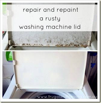 washing machine staining clothes rust