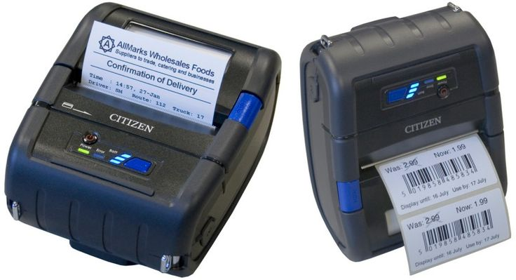 CITIZEN CMP-30 Portable Label Printer WIFI