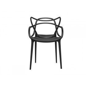 Quadre Design Krzesło Maestro inspirowane projektem Masters czarne