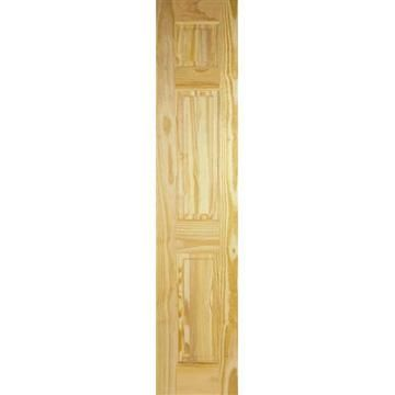 Image of 3 Panel Clear Pine Door