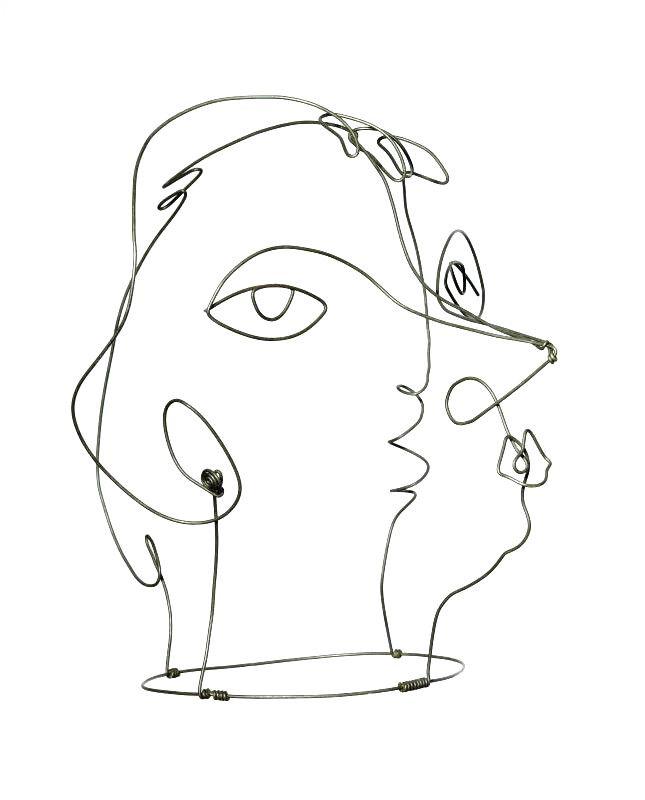 Kiki de Montparnasse (II), Alexander Calder, 1930.
