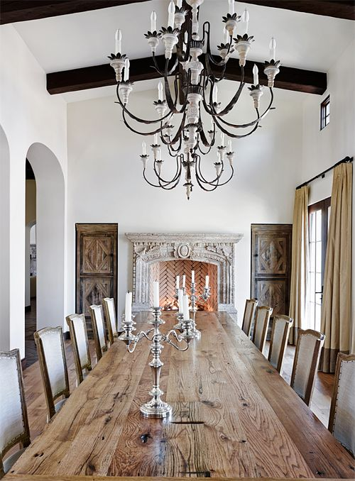 1639 best Elegant Dining images on Pinterest | Dining room design ...