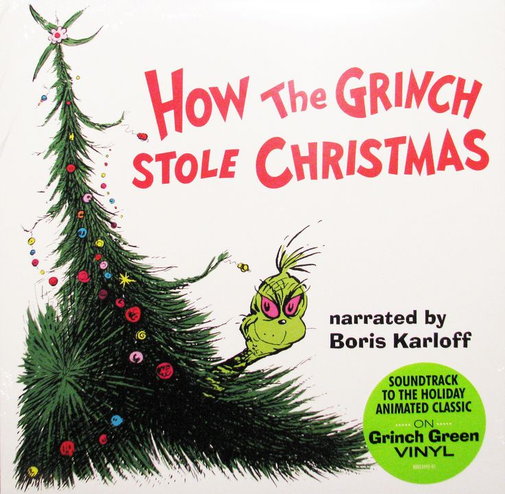 Dr. Seuss' How the Grinch Stole Christmas Story & Soundtrack [Green Vinyl Record]