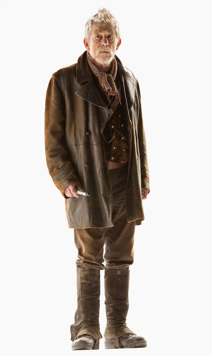 The amazing john hurt as the war doctor the reference image for my cosplay