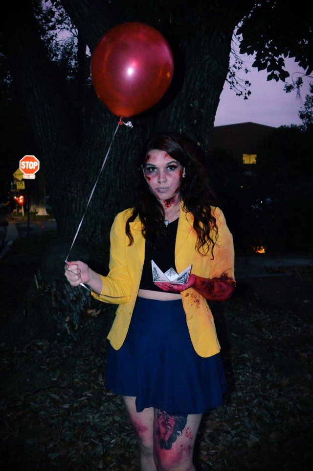 Reddit Costume Ideas 2019 Reddit   Dead Georgie from IT for Halloween | falling into autumn