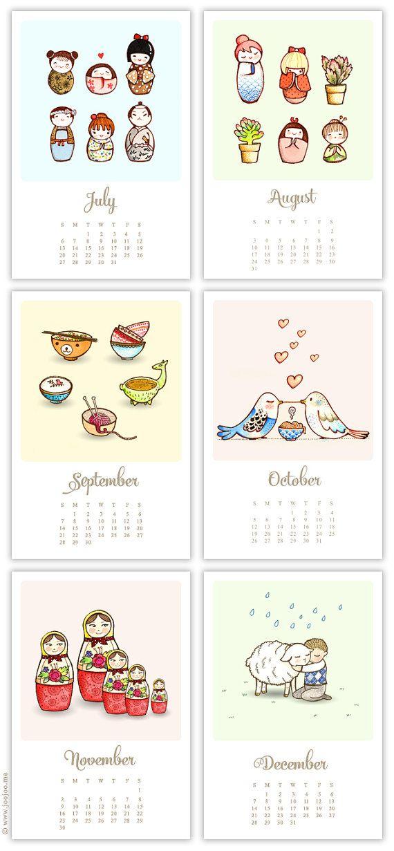 Calendar 2014 - Cuteness