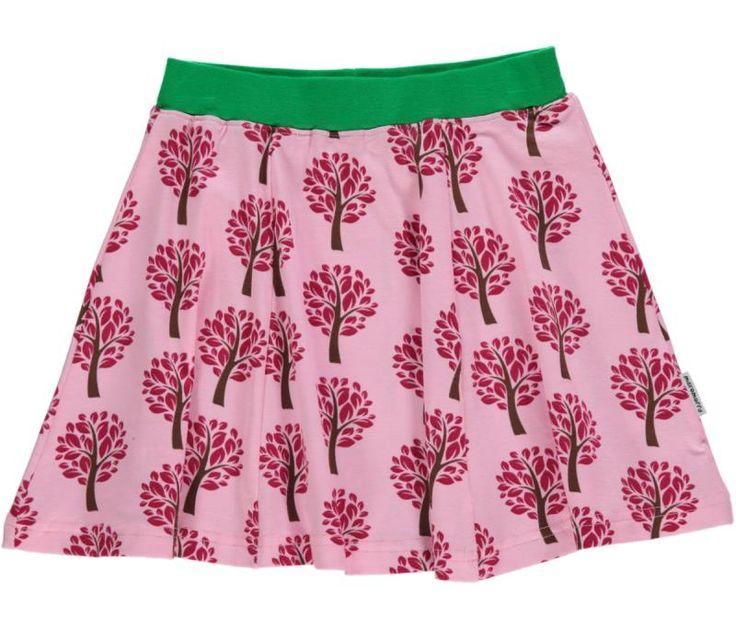 Maxomorra Organic A-line skirt - Tree Retro Baby Clothes - Baby Boy clothes - Danish Baby Clothes - Smafolk - Toddler clothing - Baby Clothing - Baby clothes Online