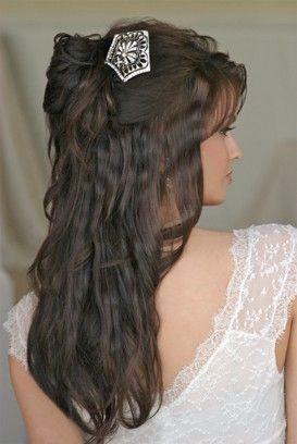 .: Hair Pin, Awesome Hairstyles, Long Hair, Hairstyles Inspiration, Bridal Hairstyles, Boho Hair, Hair Style, Beautiful Hair, Hair Exten