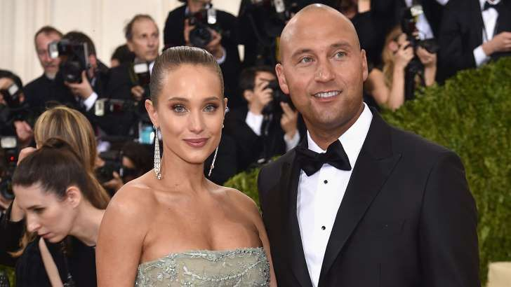 Derek Jeter and Hannah Davis Are Married! Couple Weds in 'Intimate' Napa Ceremony on 7/09/16.