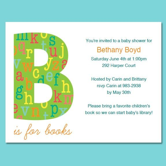 79 best book baby shower images on pinterest book baby showers book theme baby shower or birthday invitations filmwisefo