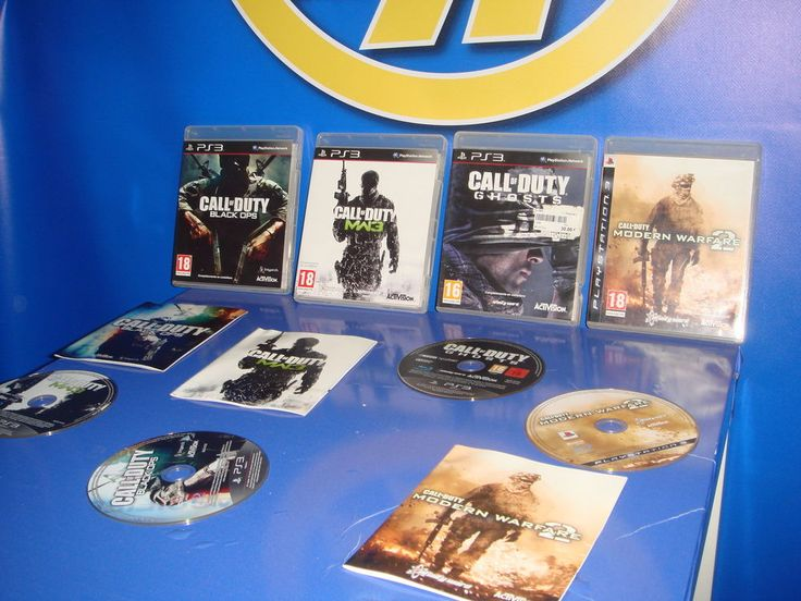 Lote de 4 juegos CALL OF DUTY-playstation 3-buen estado