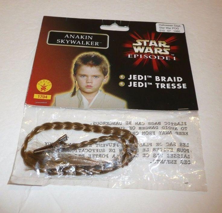 Young Anakin Skywalker Jedi Braid Hair Accessory STAR WARS Episode 1 Cosplay  #Rubies