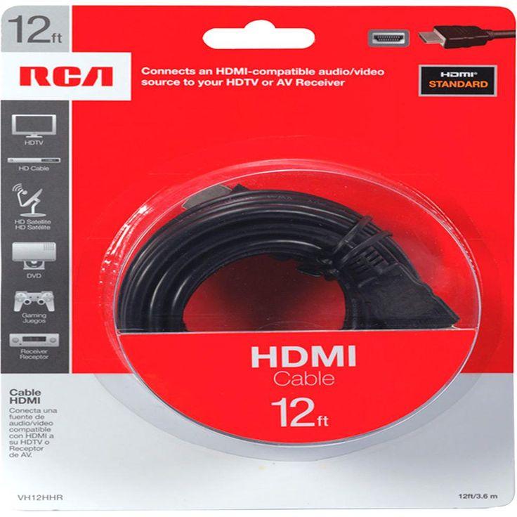 [BARATEX] Cabo HDMI 3,60m RCA R$ 9,99 - Pague um frete e ganhe um cabo