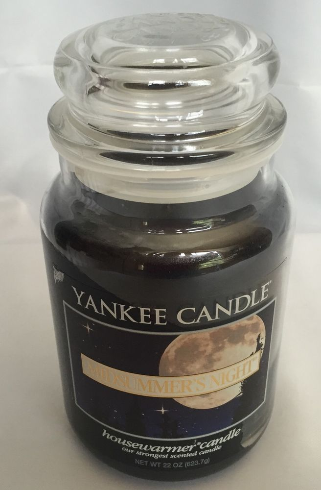 yankee candle large night jar 22 oz large glass jarscandle - Large Glass Jars