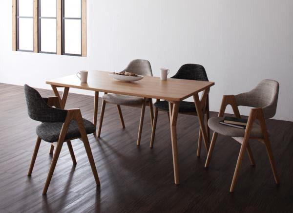 「ダイニングテーブルセット/4人掛け/北欧デザインリビング/5点 ili02」の商品情報やレビューなど。