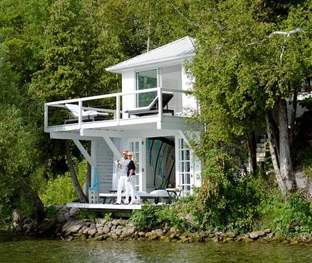 Photo Gallery: Charming Boathouses | House & HomeLakes House, Beach House, Beach Cottages, Photos Gallery, Dreams House, Coastal Style, House Style, Cottages Life, Lakes Living