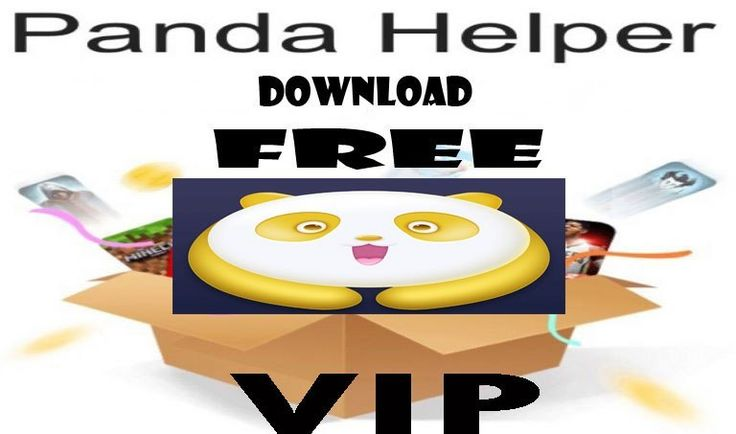 Download Panda Helper VIP free on the iOS device without