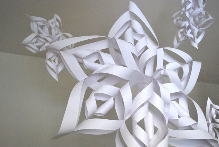 6 Ways with Snowflakes… 3D Snowflakes |
